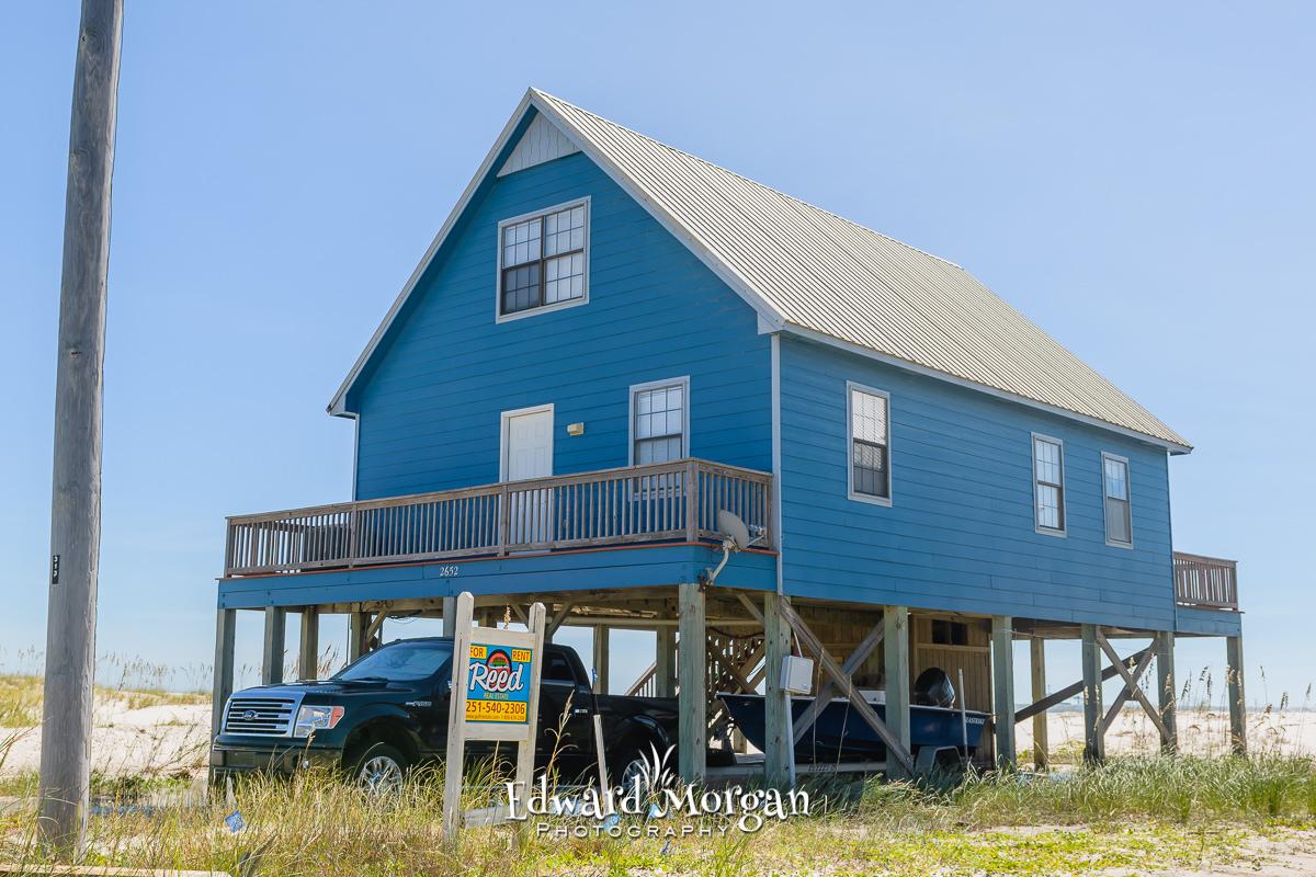 Gulf Shores wedding location beach homes