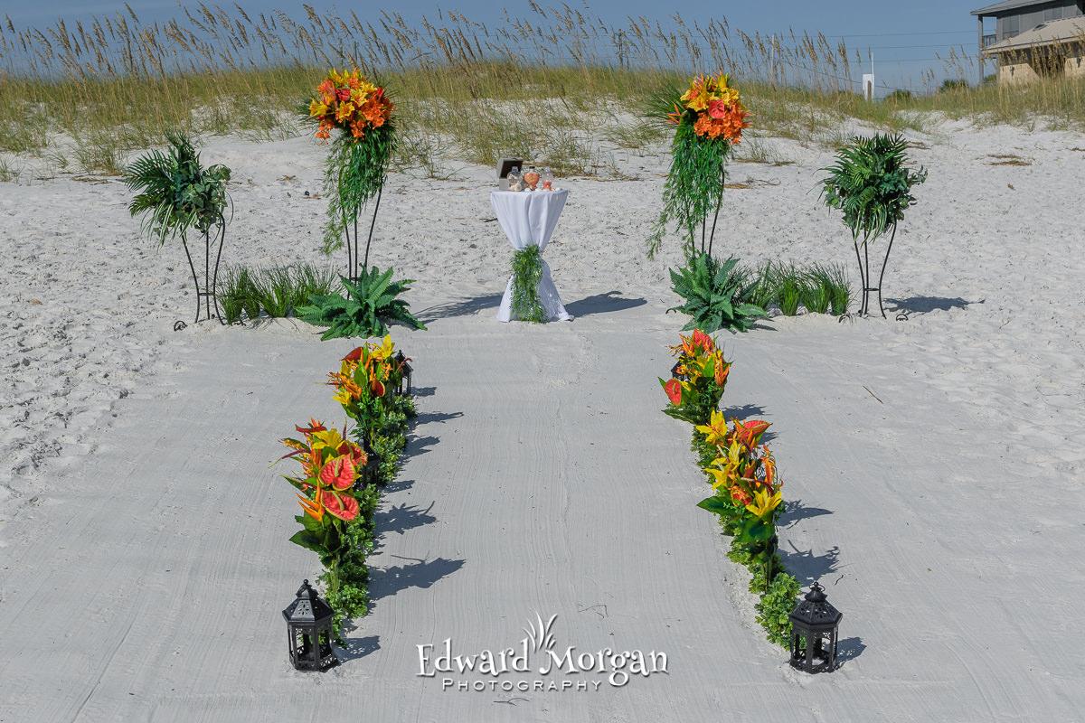 Gulf Shores Beach Wedding Package Tropical (13)