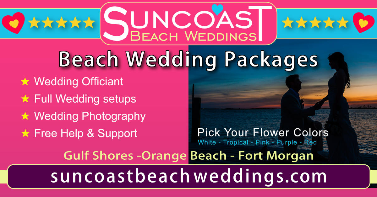 Alabama Beach Wedding Packages Pix