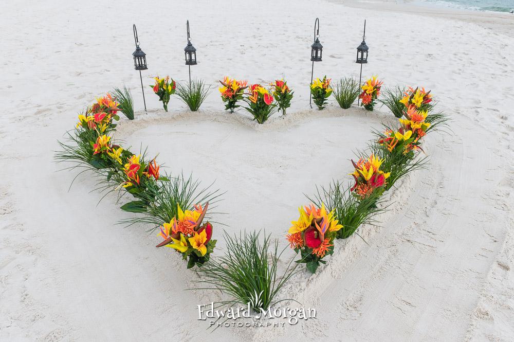 Gulf Shores Beach Wedding Two Hearts (4)