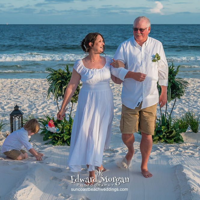 Alabama Beach Wedding 3812