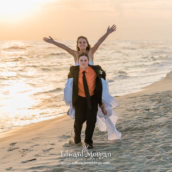 Wedding On The Beach Al 9574